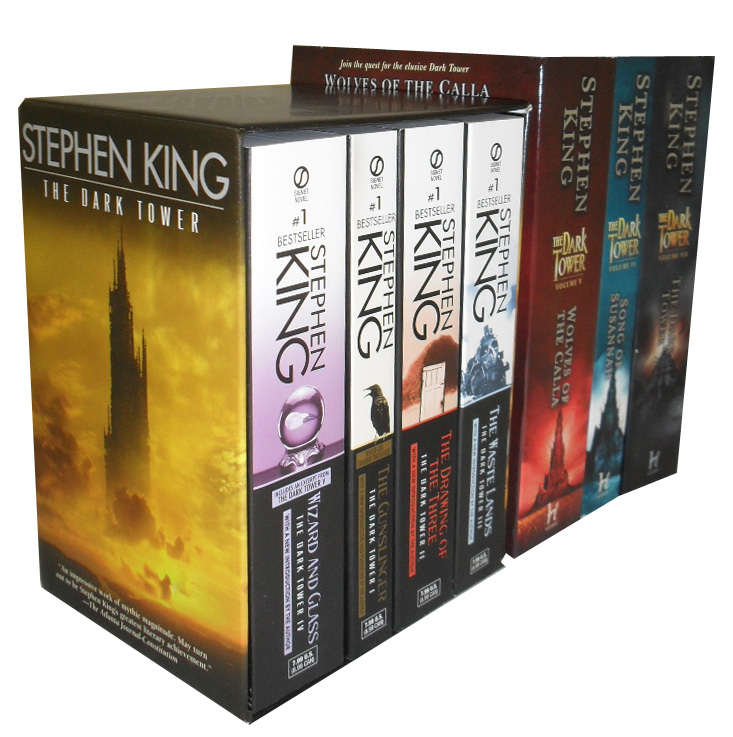 Stephen King Dark Tower Collection 7 Books Set New